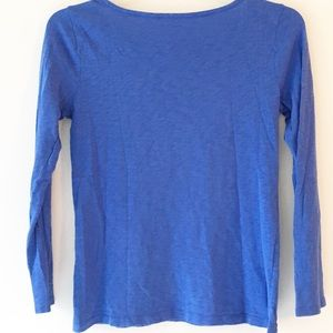 J. Crew Tops - J Crew Painter long sleeve top with gold buttons